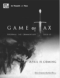 Game Of tax