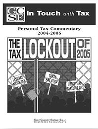 Tax Lockout 2005